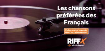 Baromètre RIFFX by Crédit Mutuel 2019 : quelles sont les chansons préférées des français ?