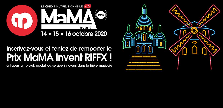 Start-up Music-Tech : participez au Prix MaMA Invent RIFFX !