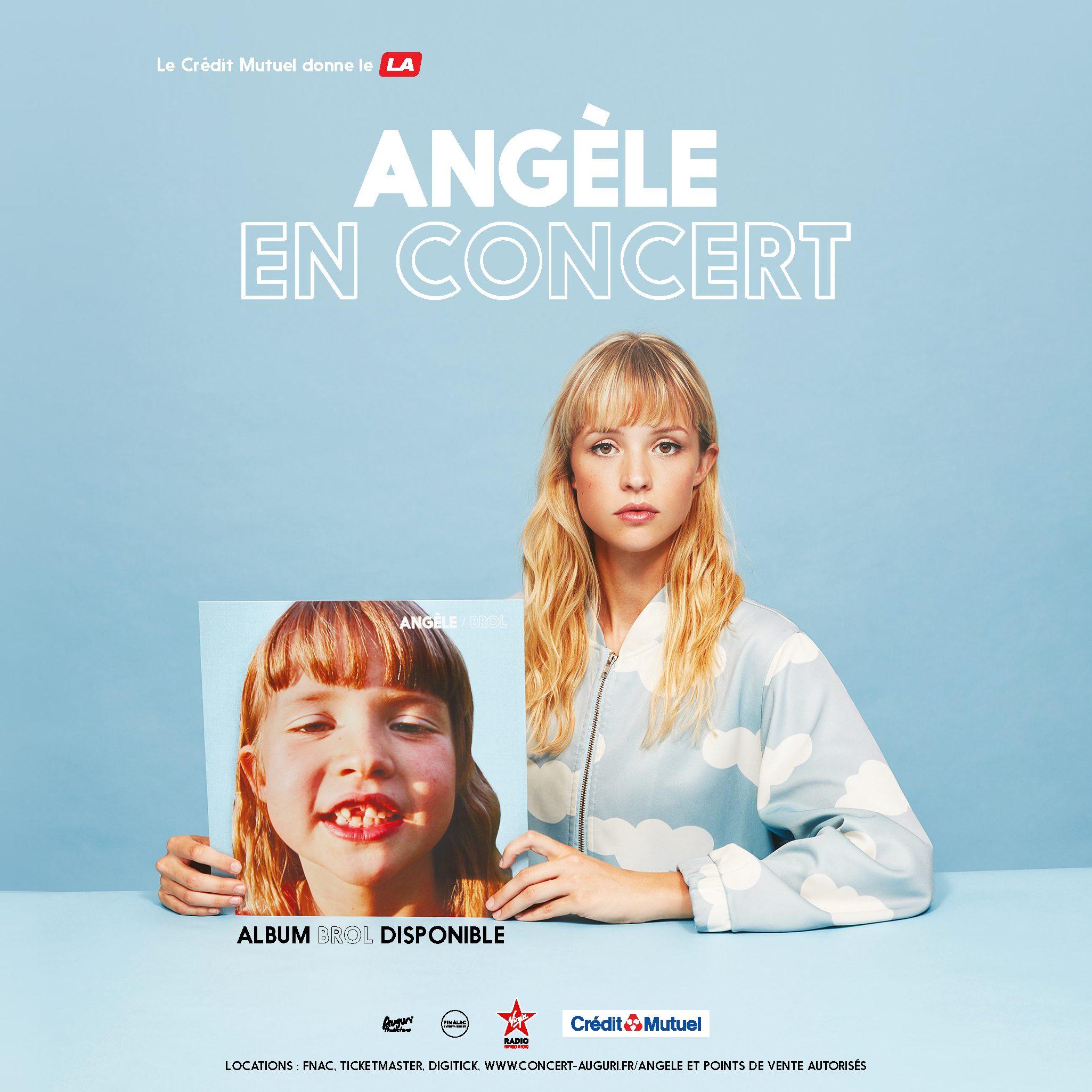 Angèle en tournée dans toute la France - RIFFX
