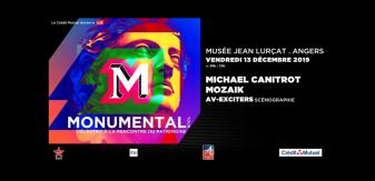 Monumental Tour : un concert electro inédit le 13 décembre à Angers