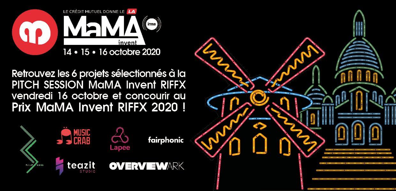 Prix MaMA Invent RIFFX 2020 : Découvrez les 6 projets de start-ups en compétition