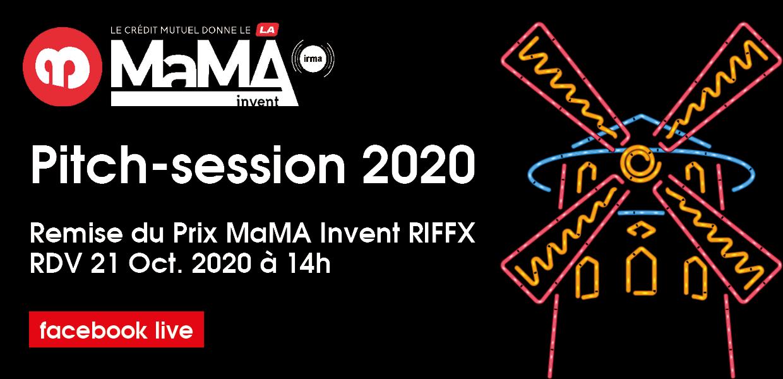 Suivez la remise du Prix MaMA Invent RIFFX en direct