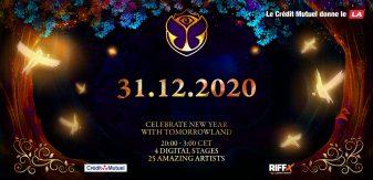 Tomorrowland 31.12.2020 : Fêtez le Nouvel An avec Tomorrowland à la maison !