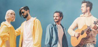 LUNIS en duo avec Boulevard des Airs, le titre Bruxelles en écoute