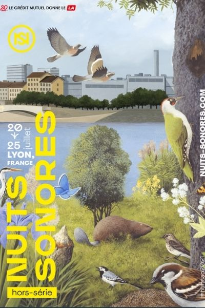 Affiche Nuits sonores