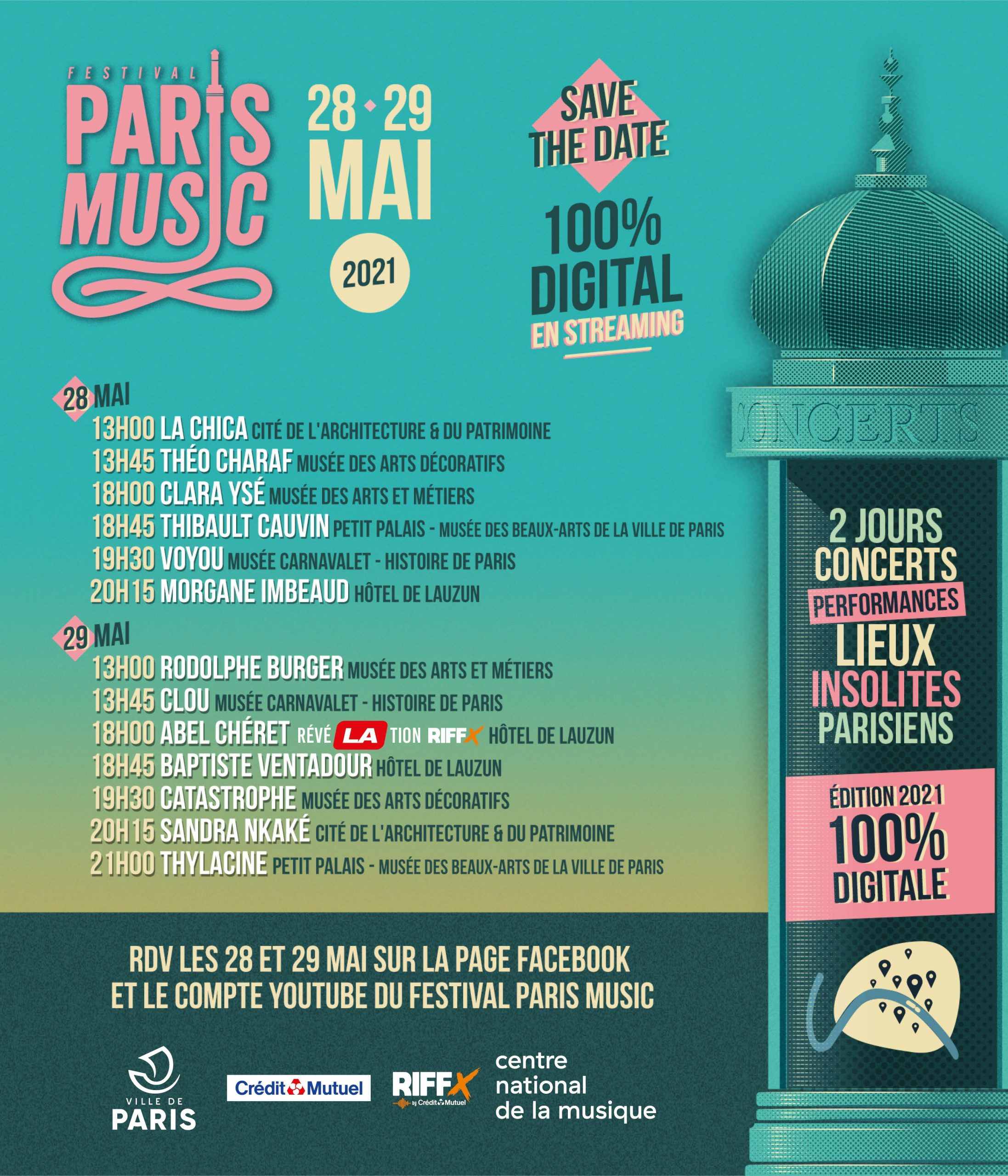 Programme de paris music festival