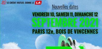 Nouvelles dates : We Love Green reporte son édition 2021 au mois de septembre