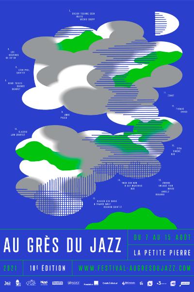 Affiche officielle Au Grès du Jazz