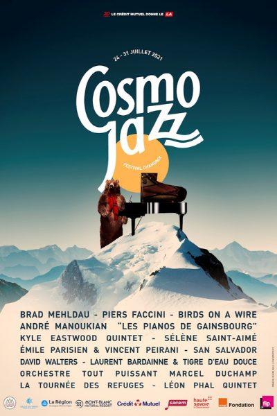 Affiche cosmo jazz
