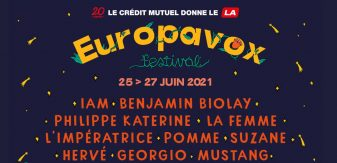 Europavox 2021 : Benjamin Biolay, Philippe Katerine, Pomme… Découvrez la programmation
