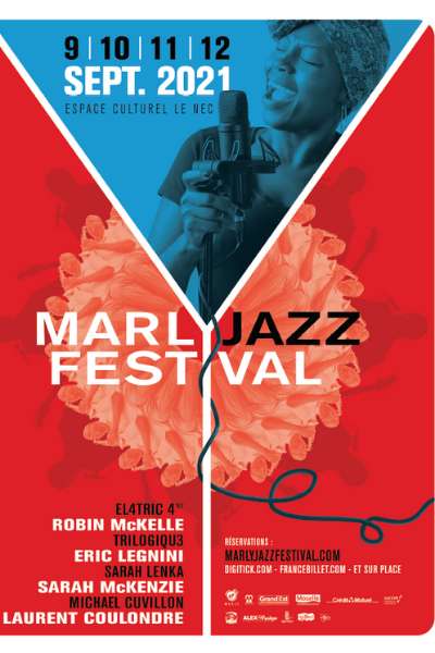 Affiche Marly Jazz festival