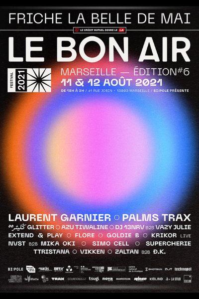 Affiche officielle le bon air festival